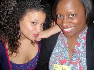 No really, who said it? -- Me and the hilarious Michelle Buteau
