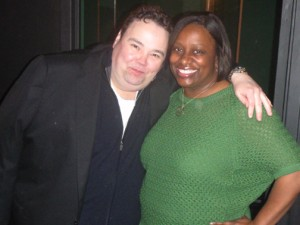 Me with John Pinette