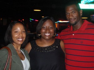 Me with Mr. and Mrs. Plummer